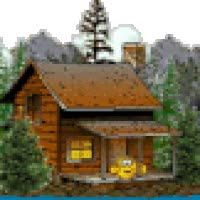 Watch and share Cabin Photo: Vacation Cabin Cabin.gif animated stickers on Gfycat