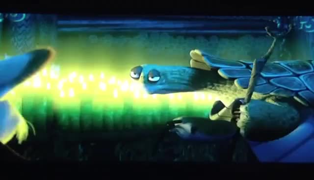 Watch and share Oogway Blow Candle GIFs on Gfycat