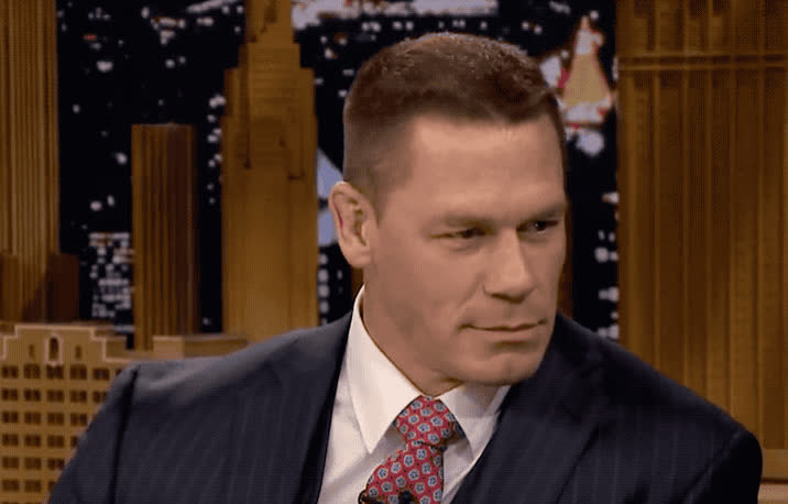 cena, cool, dude, eyebrow, fallon, jimmy, john, john cena, lab, mad, mysterious, seriously, show, theatre, tonight, Mad lab theatre with John Cena GIFs