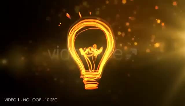 Watch and share Idea Bulb - Motion Graphic GIFs on Gfycat