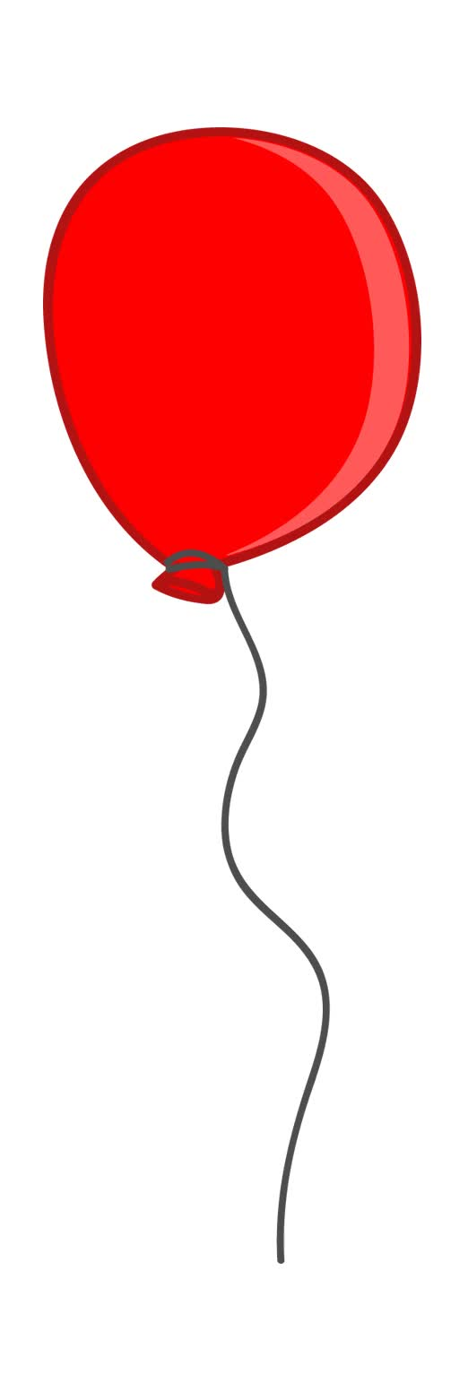 воздушный шарик гиф на прозрачном фоне можете