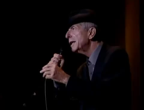 Watch and share Leonard Cohen GIFs on Gfycat