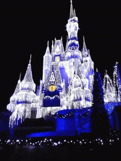 Watch and share Cinderella's Holiday Wish, Magic Kingdom GIFs on Gfycat