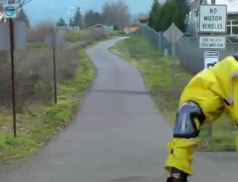 Watch and share CrossBlading - Nordic & Alpine Inline Crosscountry Skating W/ Ski Poles V1 V2 Slalom GIFs on Gfycat