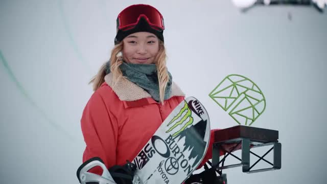 Watch How Chloe Kim Made The PyeongChang 2018 Olympic Halfpipe Snowboard Team GIF on Gfycat. Discover more 2018 Olympics, 2018 Winter Olympics, Action Sports, Beyond The Bib, Chole Kim, Dew Tour, Olympics, PyeongChang, PyeongChang 2018, PyeongChang Olympics, chloe kim GIFs on Gfycat