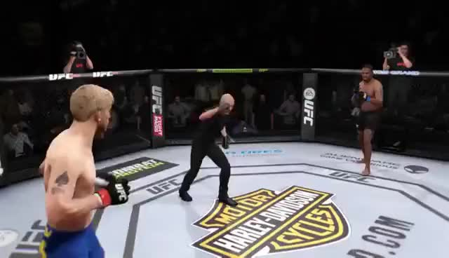 Watch and share UFC Game Soco Nocaute Lindo GIFs on Gfycat