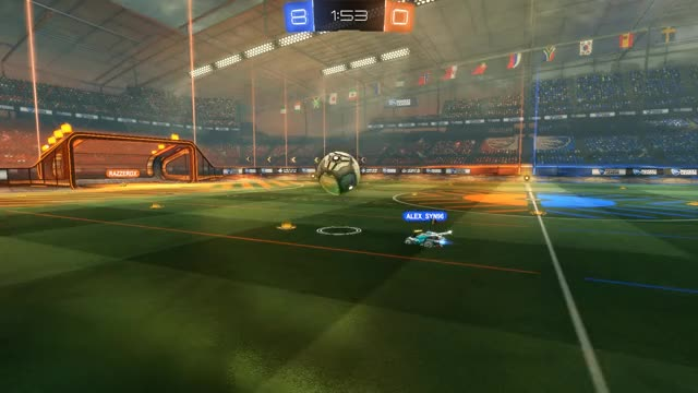 Watch and share Rocket League GIFs by vrbovszkibence on Gfycat