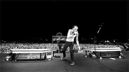 Watch and share Chester Bennington GIFs and Alternative Rock GIFs on Gfycat