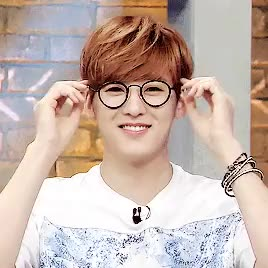Watch and share Kevin Woo GIFs and Glasses GIFs on Gfycat