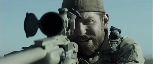 Watch this trending GIF on Gfycat. Discover more American Sniper, Bradley Cooper, chris kyle, clint eastwood, mine, movie gifs, movies 2014, oscars 2015, sienna miller, taya kyle GIFs on Gfycat