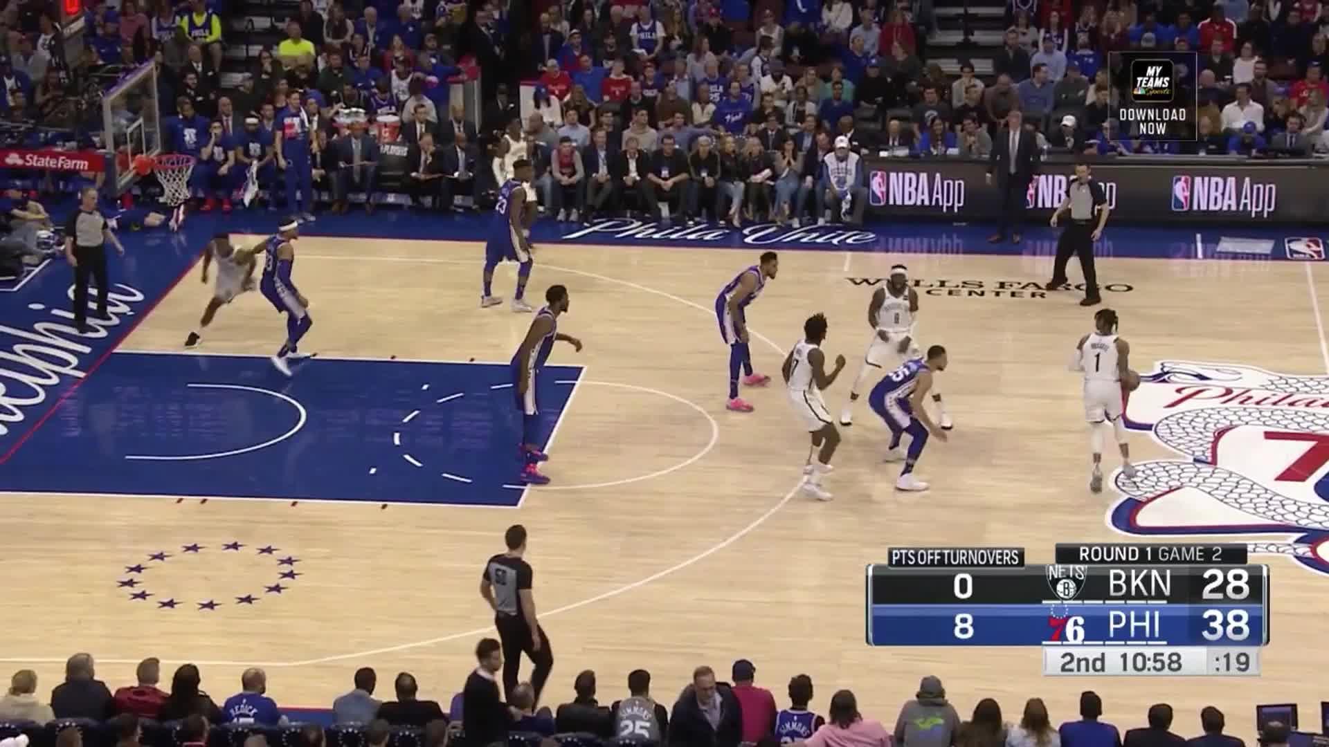 Brooklyn Nets, Jonah Bolden, NBA, Philadelphia 76ers, basketball, Jonah Bolden Nets 3 Game 2 GIFs
