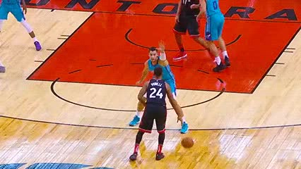 Watch and share Norman Powell — Toronto Raptors GIFs by Off-Hand on Gfycat