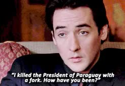 Watch and share Grosse Pointe Blank GIFs and John Cusack GIFs on Gfycat
