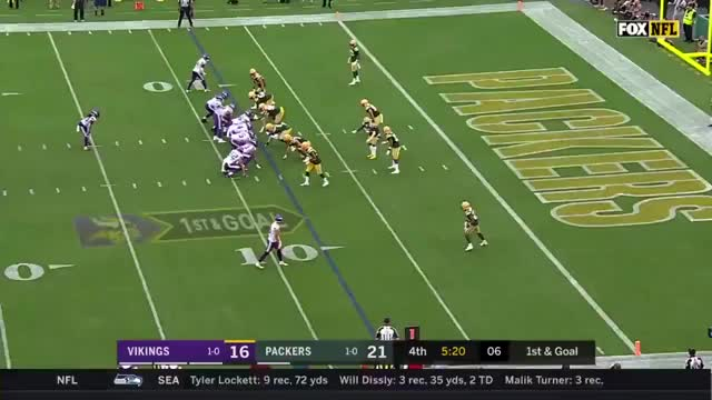 Watch and share Green Bay Packers GIFs and Minnesota Vikings GIFs on Gfycat