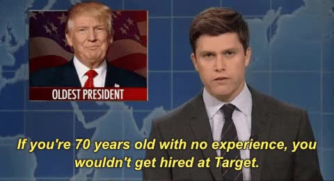 Watch and share Donald Trump GIFs and Colin Jost GIFs on Gfycat