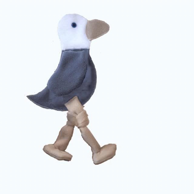 Watch and share Gull Walking Gif GIFs on Gfycat