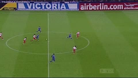 Watch and share Halil Altintop. Schalke - Mainz. 2006-07 GIFs by fatalali on Gfycat