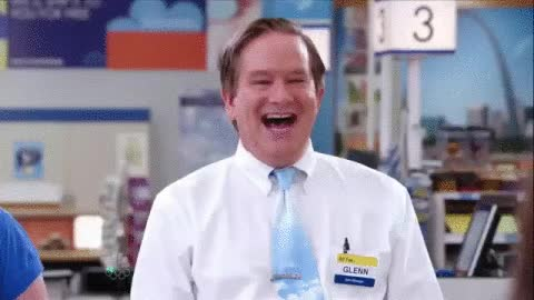 Watch and share Superstore, Glenn, Mark Mckinney, Superstore Nbc Gif For Fun   Businesses In USA GIFs on Gfycat