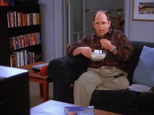 Watch and share George Costanza GIFs and Perfect Loop GIFs by Ricky Bobby on Gfycat