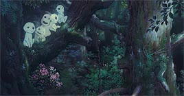 Watch 95 GIF on Gfycat. Discover more **, 10k, 1k, Hayao Miyazaki, I've had this in my drafts so might as well post it, Mononoke-hime, Princess Mononoke, Studio Ghibli GIFs on Gfycat