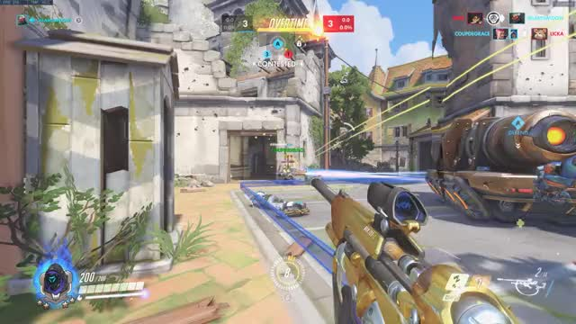 Watch and share Ana Amari GIFs and Overwatch GIFs by Scotticus on Gfycat
