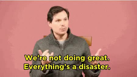 Watch Disaster GIF on Gfycat. Discover more michael ian black GIFs on Gfycat