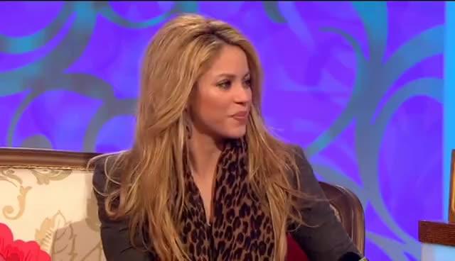 Watch shakira GIF on Gfycat. Discover more 5th, Interview, November, OGrady, Paul, Shakira, Show GIFs on Gfycat