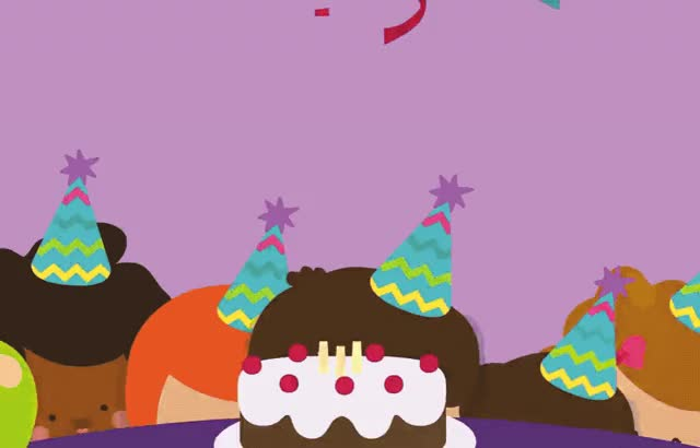 Watch this birthday GIF by GIF Queen (@ioanna) on Gfycat. Discover more a, ballons, birthday, blow, cake, candles, celebrate, children, excited, friends, happy, happy birthday, kids, make, party, to, wish, you GIFs on Gfycat