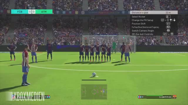 PES 2018 BEST GOALS Compilation (Xbox One, PS4, PC) GIF