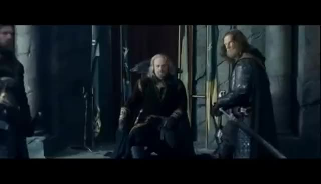 Watch Aragorn opens the door GIF on Gfycat. Discover more related GIFs on Gfycat