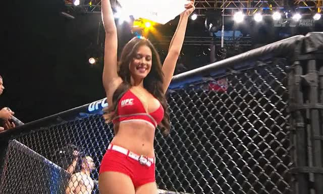 a story about dreaming to be a UFC card cutie...