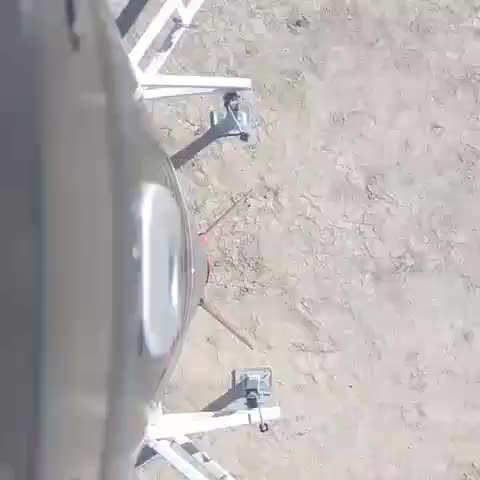 POV of a rocket being launched into space GIFs