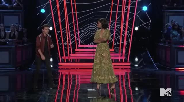 Watch this mtv awards 2017 GIF by GIF Reactions (@visualecho) on Gfycat. Discover more MTVAwards, MTVAwards2017, Tom Holland, flip, tricks, zendaya GIFs on Gfycat