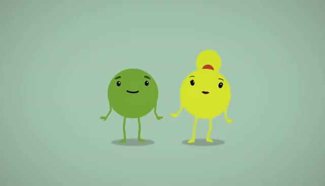 Watch and share Yellow And Green Pea GIFs on Gfycat