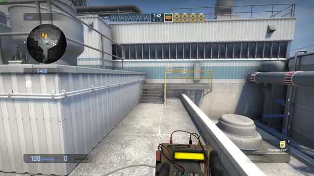 Watch https://www.reddit.com/r/GlobalOffensive/comments/4gadzx/i_guess_gabe_doesnt_want_me_to_awp/d2glv94 GIF by Pascal (@pascal1888) on Gfycat. Discover more de_nuke, gameplay, globaloffensive GIFs on Gfycat