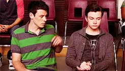 Watch Canadian Angel GIF on Gfycat. Discover more Monfer, brotp: brothers from another mother, chris and his canadian angel, chris colfer, cory monteith, finn hudson, furt, glee ships, kurt hummel GIFs on Gfycat