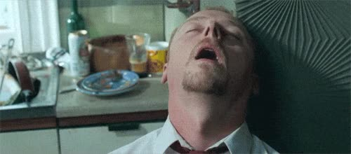 Watch and share Simon Pegg GIFs and Exhausted GIFs on Gfycat