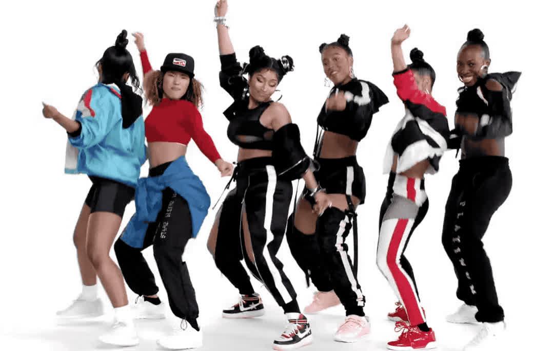 barbie, celebrate, dance, dancing, epic, excited, exciting, gang, girls, group, minaj, nicki, party, sexy, tingz, twerk, women, woohoo, yay, yeah, Nicki Minaj - Barbie tingz GIFs