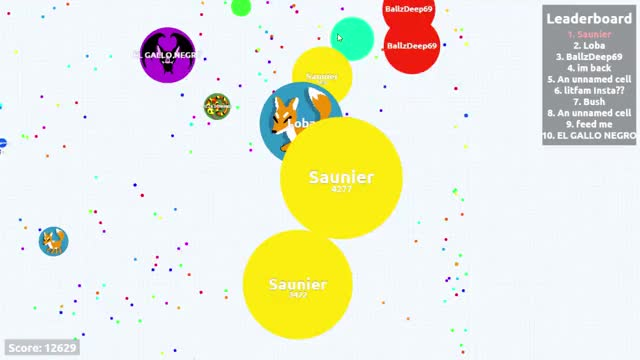 Watch and share Agario GIFs by saunier on Gfycat
