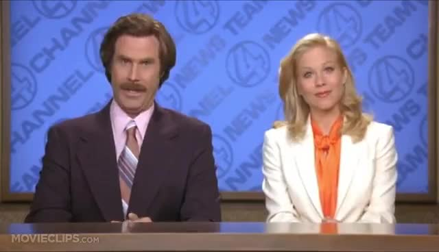 Watch and share Ron Burgundy GIFs on Gfycat