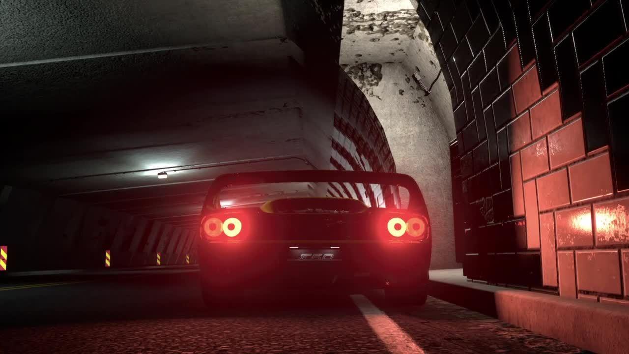 driveclub, ferrari, Driveclub - F50 GIFs