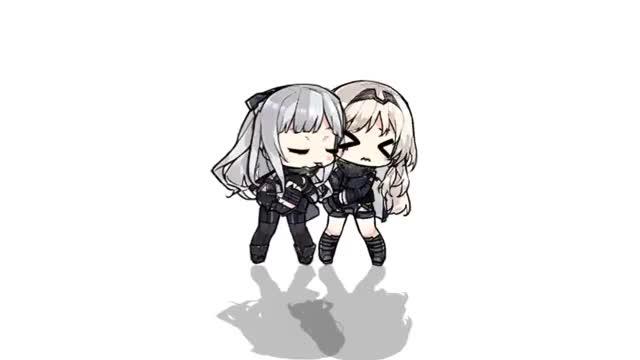 Watch and share Ysas - Sisterly Love #少女前線 #ドルフロ #GirlsFrontline #소녀전선-1190228793966727168 GIFs on Gfycat