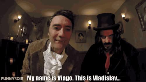 Watch viaRules Of The Vampire with Jemaine Clement and Taika Waititi GIF on Gfycat. Discover more dr disrespect GIFs on Gfycat