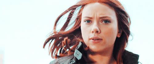 running, scarlett johansson, Scarlett Johansson Running GIFs