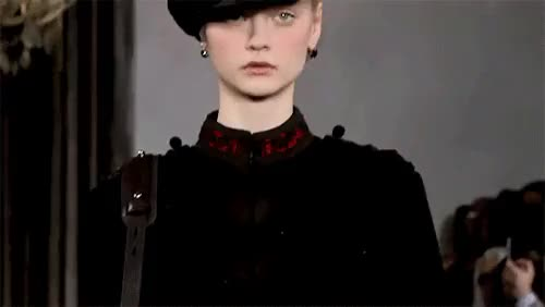 Watch and share Nastya Kusakina GIFs and Ralph Lauren GIFs on Gfycat