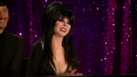 blessed, cassandra peterson, elvira, grateful, gratitude, mistress of the dark, thank you, thanks, Elvira - Thank You GIFs