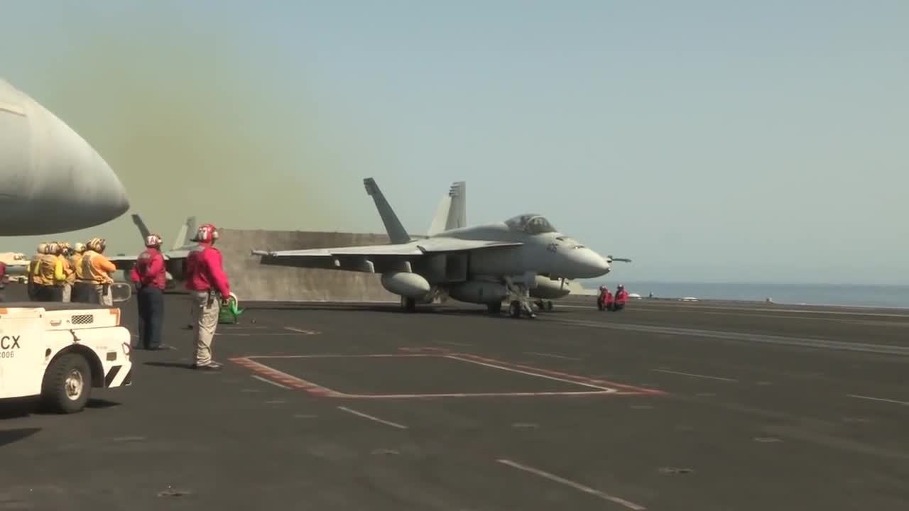 airforce, armed forces, arms, army, defence, gun, military, military news, missile, navy, news, rifle, tank, us navy, usa, usmc, war game, weapon, world war, F18 Carrier Takeoff GIFs