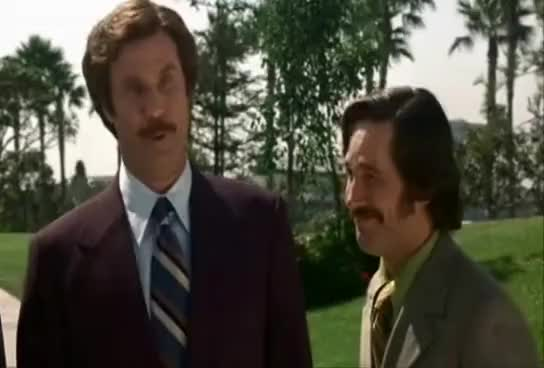 Watch and share Wes Mantooth - Anchorman GIFs on Gfycat