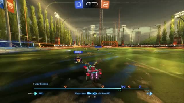 Watch and share Rebound Goal Off Of My Own Save GIFs by elatechickens on Gfycat