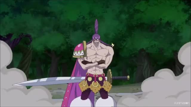 Cracker Shields Himself With One Of His Soldiers One Piece Ep 800